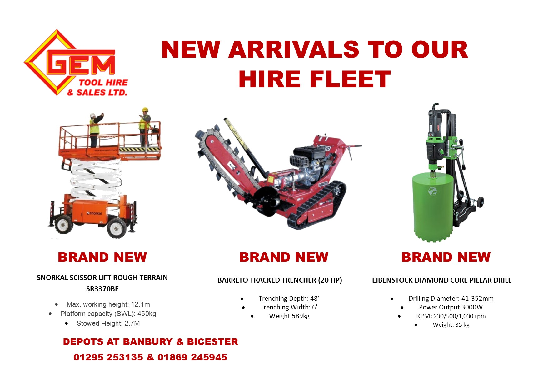Gem Tool Hire Professional Tools For Every Type Of Job
